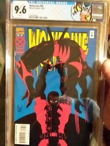 Wolverine #88 CGC 9.6 Deadpool vs Wolverine custom label