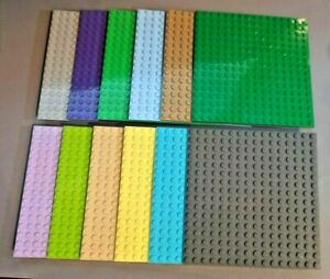 Genuine Lego 16 x 16 Base plate 91405 building block brick Friends Star Wars MOC
