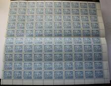 Canada #414, MNH OG Sheet Of 100, Folded & Will Ship Folded, Jet Definitive