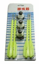 Green 4 Fishing Bolts For 50 to 130 Pounds Crossbow & 3 Fishing Line Wheel