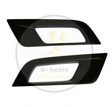 FOG LIGHT COVERS PROTECTOR BLACK MATTE FITS FORD RANGER RAPTOR 15-19 WILDTRAK