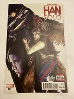 Star Wars Han Solo #1 Marvel Comics Liu Brooks Oback Cover Direct Edition