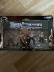 WWE Micro Aggression Action Figures