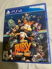 Bubsy: Paws on Fire Limited Edition PlayStation 4 PS4 RARE Game Look