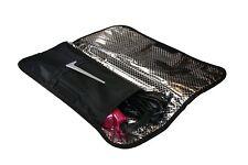 Hair Straightener Heat-Resistant Travel Case. Portable Flat Iron Protector