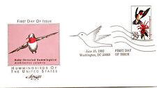 2642-46  Hummingbirds set 5 Artmaster FDCs