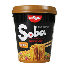 Nissin Soba curry Cup Noodle - 8 tasses