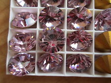 016 - Swarovski Brillion Rhinestones - SS60 Light Amethyst - 24 Pcs - Brilliant