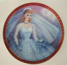 1959 Barbie Bride-To-Be Danbury Mint Plate Susie Morton