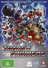 Transformers Generation One Remastered Season 2.2 Collection NEW R4 DVD