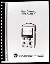 Rca Voltohmyst 195 A 195a Operating Manual