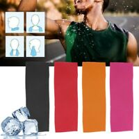 Ice Cold Instant Cooling Towel Running Jogging Gym Chilly Pad Breathable Towel