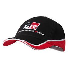Toyota Gazoo Racing CME équipe Cap Rouge Chapeau Noir Coiffure