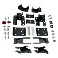 """MaxTrac Suspension 710515 1.5/"""" Rear Lift Shackles for 07-14 Chevy Silverado 1500"""