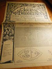 Le Journal des Brodeuses 1950 n°659 chemise bébé fantaisie corsages lingerie