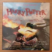 Harry Potter Books 4-5 - 41 Audio CDs - Goblet of Fire & Order of the Phoenix