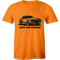 Save The Whales Shirt - Funny World Peace Narwhals Men's T-shirt Tee