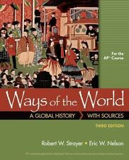 Textbooks educational books ebay ways of the world a global history with sources for the ap course 3rd fandeluxe Image collections