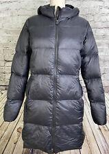 Eddie Bauer Luna Peak Down Parka Womens Hooded Coat 550 Fill Black M L