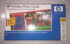 NEW HP Holiday Photo Cards by American Greetings 4x8 Perf. Tab Design Templates