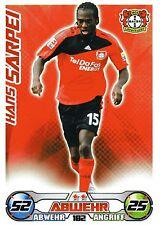 182 Hans Sarpei - Bayer Leverkusen - TOPPS Match Attax 2009/2010