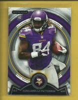 Cordarrelle Patterson RC  2013 Topps Strata Rookie Card # 129 Vikings Patriots