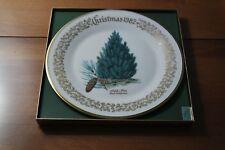 Lenox Annual Christmas Commemorative Plate 1982 Aleppo Pine