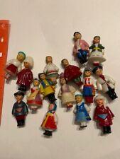 Vintage plastic dolls international all over the world