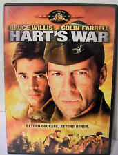 Harts War (DVD, 2002) Bruce Willis Colin Farrell
