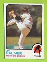 1973 Topps - Jim Palmer (#160)  Baltimore Orioles   W6