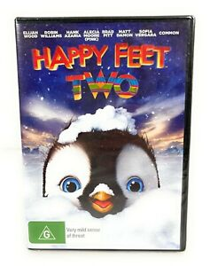 Happy Feet 2 (DVD 2011) Elijah Wood New & Sealed Region 4 Free Postage