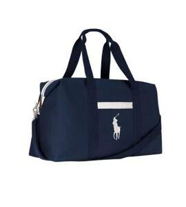 Ralph Lauren Polo Mens Weekend Holdall Sports Gym Travel Flight Cabin Bag £18.49