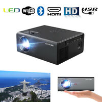 Wireless LED Android Proyector Smart Bluetooth Projector Wifi HD Home Theater