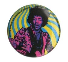 Jimi Hendrix Icon Design 2 1 inch 38mm button pin badge Official