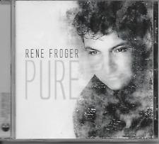 RENE FROGER - Pure CD Album 12TR Pop Holland 2004 (DINO) RARE!