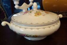 Vintage Homer Laughlin Soup Tureen Eggshell Nautilus China, USA, E 40 N 5