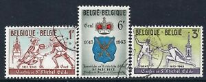 5037 - Belgium 1963 - The 350th anniversary of St.Michel fencing exhibition-Used
