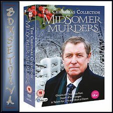 MIDSOMER MURDERS - CHRISTMAS COLLECTION - 4 DVDS  *BRAND NEW DVD*