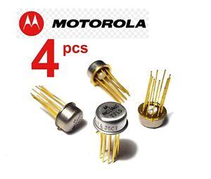 4 pcs Motorola MC1596G Balanced Modulator/Demodulator I.C. 10-Pin CAN - USA SHIP