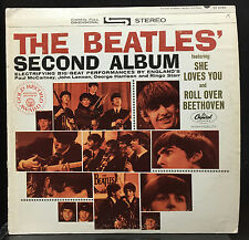 The Beatles - Second Album LP Mint- Stereo 1969 Winchester Green Lbl ST-X-2080