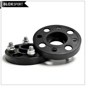 4 lugs wheel spacers 25mm 2pc for Honda Jazz Fit GK5 GD Mini R55 R56 R57 R58 R59