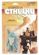 Legends of Cthulhu Retro Action Figure - Deep One Servant of the Cultist