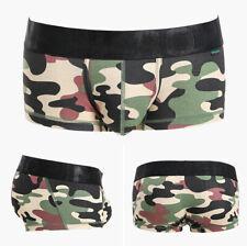 new Men's Underwear BIG Pouch Underpants  Printed Boxer Cotton Shorts Brief