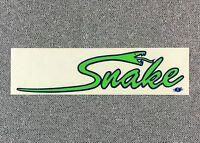 VTG SIMS PIERRE ANDRE FRENCH FREESTYLE SKATEBOARD OLD SCHOOL NOS SKATE STICKER !