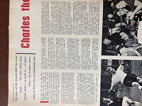 b1L ephemera 1959 picture article Mel charles football footballer