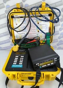 TELETONIX TONERANGER - TF1 CABLE FAULT LOCATOR w/Ariel BURIED & Paired ID TESTED