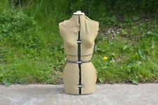 old vintage tailor dummy Dressmakers female adjustable mannequin  - FREE POSTAGE