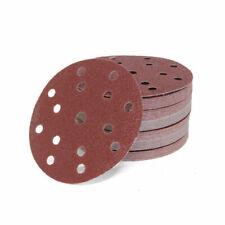 Schleifscheiben Set 50 Stück Ø 150mm Rot mit 15 Loch P40 P60 P100 P150 P320