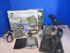 Palm Vx Handheld Pda~2 Docking Stations, Cd, Manuals, Stylus~Working Condition