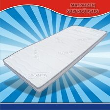 Visco Topper, Matratzenauflage 140x200cm mit antiseptischem Silvercare Bezug